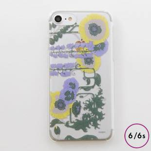[ヴィカマニプリコレクション]vikka manipuri case collection lilybell Clear for iPhone 6/6s