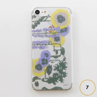 [ヴィカマニプリコレクション]vikka manipuri case collection lilybell Clear for iPhone 7