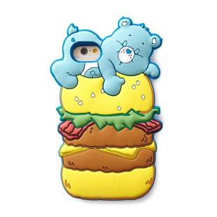 MERRY GADGRT CareBears SILICONE ハンバーガー for iPhone 7/6s/6
